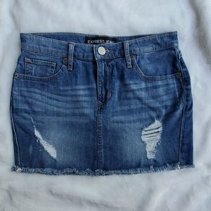 Express Jeans jean skirt. Size 2.